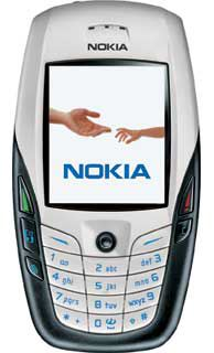 The Nokia 6600 cell phone