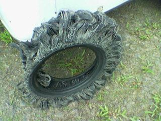 Jeff and Lisa's Trailer Tire
