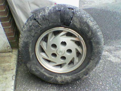 Dave's Van Tire